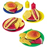 34 piece Bar-B-Que Play Food for kids