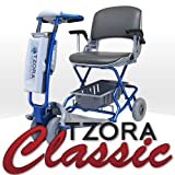 TZORA CLASSIC Lexis Light Folding Lightweight Travel Electric Scooter + FREE COVER & BASKET