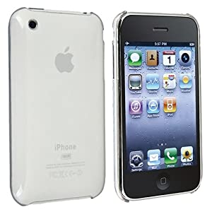 Slim fit Clip-on Case Compatible With Apple® iPhone® 3G / 3GS, Clear