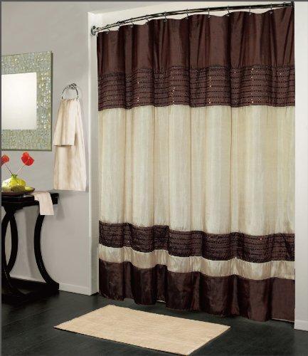 kashi-home-ibiza-shower-curtain-70x72-brown-ivory