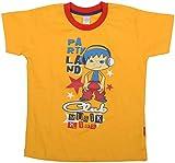 kandyfloss Baby Boys Cotton T-Shirt (MRHKF YLW-T SHIRT _ 2-3 Years, Yellow)