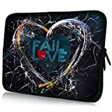 "WEV Love Pattern 7""/10""/13"" Laptop Sleeve Case for MacBook Air Pro/Ipad Mini/Galaxy Tab2/Sony/Google Nexus 18073 , 13"""