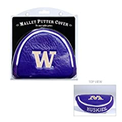 Brand New Washington Huskies NCAA Putter Cover - Mallet by Things for You