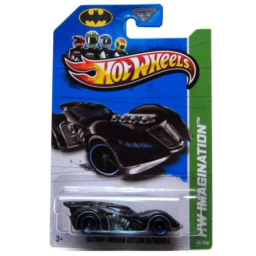 2013 Hot Wheels Hw Imagination - Batman: Arkham Asylum Batmobile