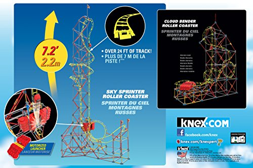 K'NEX Sky Sprinter Roller Coaster Building Set JungleDealsBlog.com