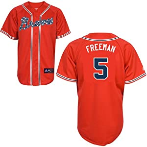 Freddie Freeman Atlanta Braves 2014 Majestic Alternate Jersey