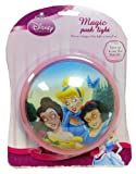 Disney Princess Magic Push Light - Belle, Cinderella & Snow White