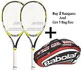 Babolat Drive Z lite Racquet & Babolat Team Line Racquet Holder X 12 (Red) -Combo