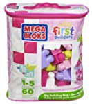 Mega Bloks Pink Buildable Bag (60 Pie...