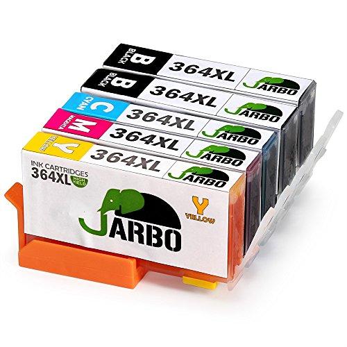 jarbo 364 tintenpatronen 4 color 1set 1bk 5 pack high. Black Bedroom Furniture Sets. Home Design Ideas