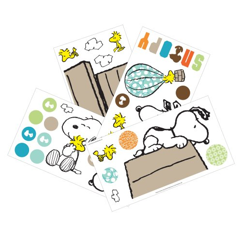 Lambs & Ivy Bff Wall Appliques, Snoopy (Discontinued By Manufacturer) front-133891