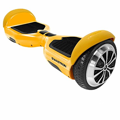 Swagtron T1 Hoverboard - World's First UL2272 certified Hands Free Two Wheel Self Balancing Electric Scooter