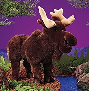 """Moose Puppet 22"""" by Folkmanis Puppets by Folkmanis Puppets"""