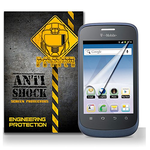 D-Flectorshield Zte T-Mobile Concord / V768 Anti-Shock/Military Grade/ Tpu /Premium Screen Protector / Self Healing / Oleophobic Material / Ez Install / Ultra High Definition / Scratch Proof / Bubble Free Install / Precise Laser Cuts front-437600