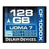 Acquista Delkin - Scheda di memoria 128 GB CF COMBAT 1000X UDMA7