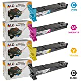LD  Compatible Konica-Minolta Compatible MagiColor 4650 Set of 4 Toner Cartridges: 1(Black/Cyan/Magenta/Yellow)