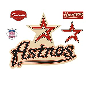 Fathead Houston Astros Logo Wall Decal by Fathead