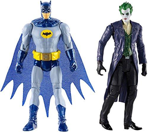 "Super Hero The Dark Knight Returns Armored Batman Figure Vs Multiverse 4"" Arkham Origins The Joker Action Figure"