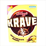 Kelloggs Krave White Chocolate Brownie 375g