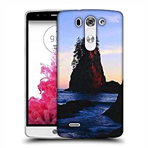 Snoogg Rocks In The Lake Designer Protective Phone Back Case Cover For LG G3 BEAT