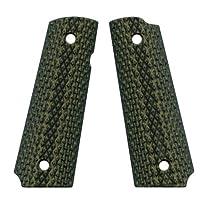 VZ Grips Diamond Back Full Size 1911 Gun Grip, Dirty Olive