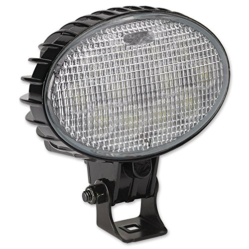 "Jw Speaker 735T-24V Led Worklamp Trap Glass W/Harn, 1400 Effective Lumens, 24V Voltage, 12"" Cord Length"