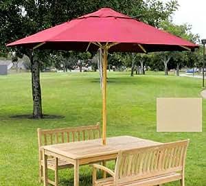 Dayva Ambrosia Octagonal Market Umbrella 9