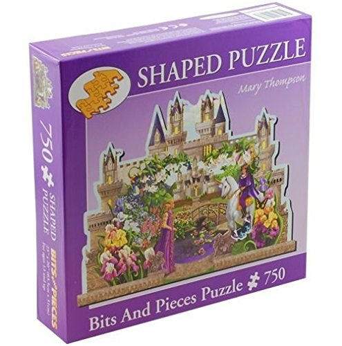 Enchanted Castle by Mary Thompson; 750 Piece Shaped Puzzle