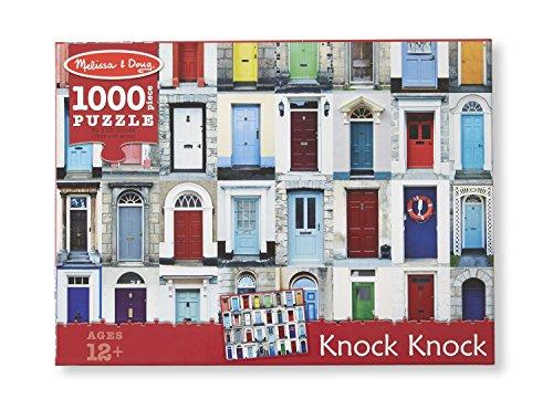Melissa amp doug knock knock cardboard jigsaw 1000 pc puzzle
