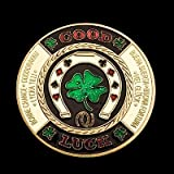 NEW GOOD LUCK POKER CARD GUARD CHIPS CARD PROTECTOR COINS ACCESSORIES UKby Yousave