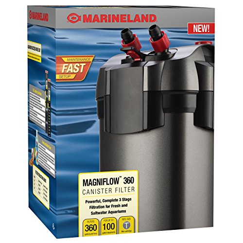 Marineland ML90751 Magniflow Canister 360 Filter (Canister Aquarium Filters compare prices)