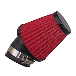 Vheelocityin 71888 Red Free Flow Air Filter for Bikes