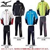 MIZUNO(ミズノ) N-XT ウォームアップ 上下セット 【メンズ】 (32JC6020/32JD6020) (XL, ブラック×ブラック(09/09))