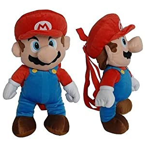 Nintendo Super Mario Bros Large Plush Doll Backpack 18 - Nice Large Plush Backpack A Small Compartment On The Back Buy It Now Hot Item from Nintendo