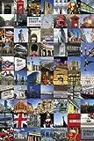 1art1 51485 London - Collage, 70 Sehenswürdigkeiten Poster 91 x 61 cm
