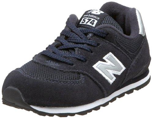 New Balance Kids' Kl574 Sneaker,Navy,10 M Us Toddler