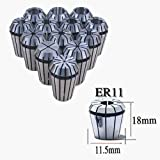 ZJchao(TM) 13 PCS ER11 Spring Collet Set for CNC Engraving Machine & milling Lathe Tool