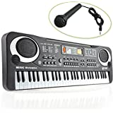 Children 61 Keys Music Electronic Keyboard Electric Piano Organ Gift With Charger /Item# G4 W8 B 48 Q52853