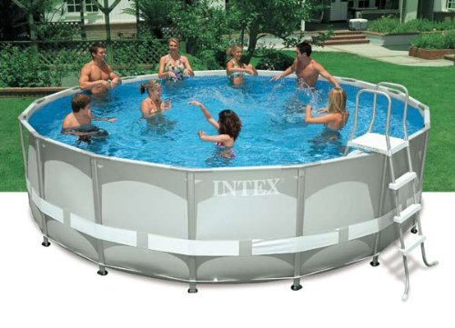 Intex Above Ground Pool In Cheap Intex Above Ground 16ft 48in Ultra Frame Swimming Pool Set Sales
