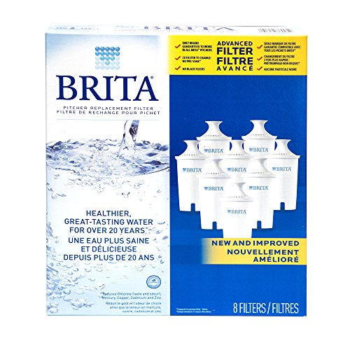 Check Out This Brita Water Filter Pitcher Advanced Replacement Filters, 8 Count