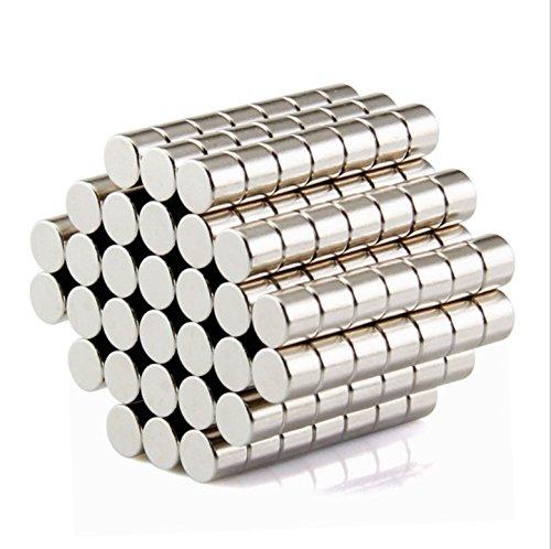 zmart ネオジウム 磁石 ネオジム マグネット 5mmx3mm 100個 N50
