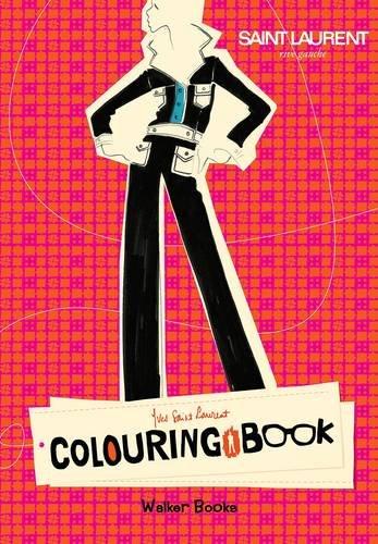 Yves Saint Laurent Rive Gauche Colouring Book PDF