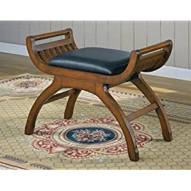 Beautiful Arch Style Bedroom Vanity Stool Leisure Chair Bench