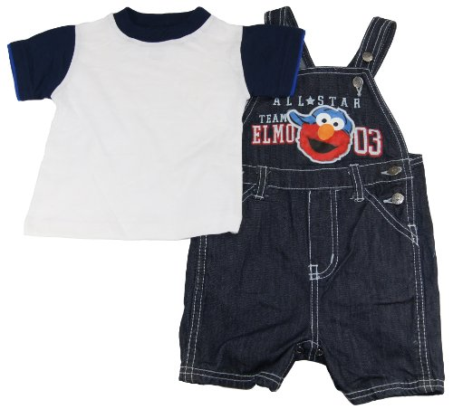 Elmo Sesame Street Baby-Boys Knit Pullover and