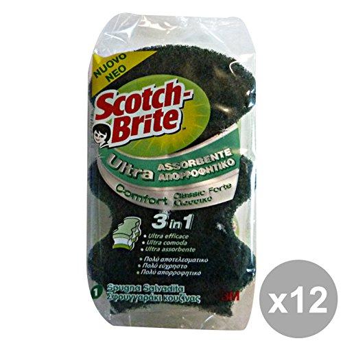 set-12-scotch-brite-ultra-salvadita-spugna-fibra-a22-attrezzi-pulizie