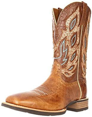 Ariat Men's Nighthawk Western Boot, Beasty Brown, 7 M US