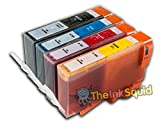 The Ink Squid Compatible Ink Cartridges. Replacement for HP 364 & HP 364 XL (1 x Black, 1 x Cyan, 1 x Magenta, 1 x Yellow). Compatible with HP Photosmart C309n C309a C309g C309h C309 C309c C310 C310a CQ521B C310a C310 Fax Fax C309C Fax C309A Fax C410 Fax