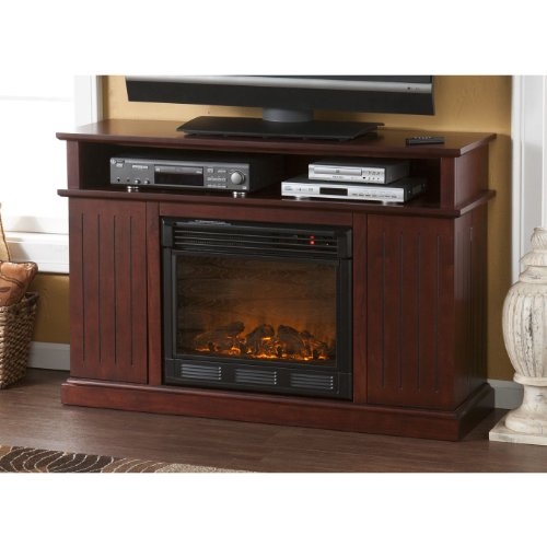 Holly & Martin Fenton Media Electric Fireplace, CHERRY photo B00917V2FA.jpg