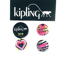 Kipling 4 Pack Pins