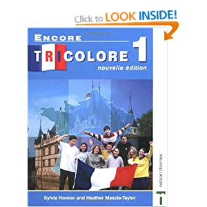 Encore Tricolore 1 Nouvelle Edition: Students' Book Stage 1